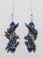 Denim Twist with Sterling Silver (Tantalizing Twist Collection)