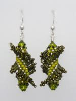 Lichen Twist with Sterling Silver (Tantalizing Twists Collection)