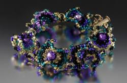 Broadway Curvaceous Bulls-Eye Bracelet Kit by Carrie Johnson