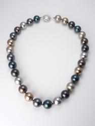 Pelosi's Pearls Necklace - Short (Swarovski crystal pearls)