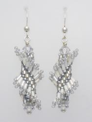 Tantalizing Twists - Silver Mist Twist Earring Kit