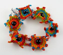 Rio Jubilee Curvaceous Bulls-Eye Bracelet Kit by Carrie Johnson