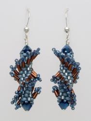 Tantalizing Twists - Denim Twist Earring Kit