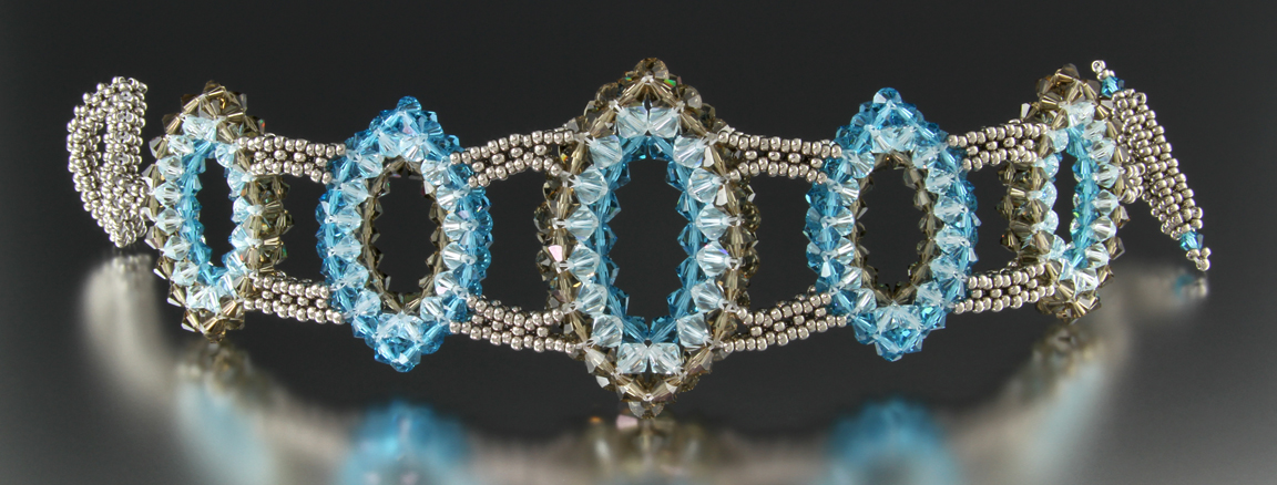 Duchess Austrinus Swarovski Crystal Bracelet by Carrie Johnson