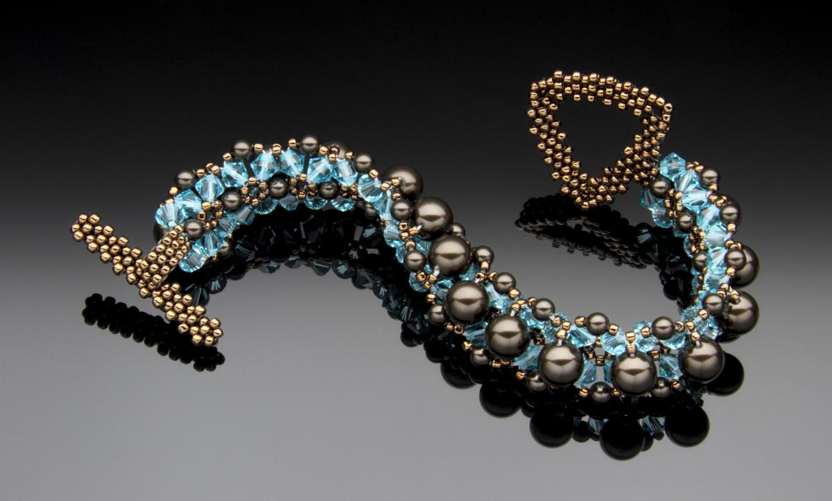 Hidden Depths Bracelet by Carrie Johnson